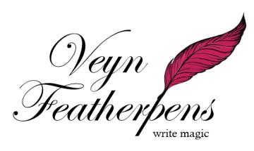 Veyn Featherpens logo box